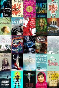 Older Readers' Covers 2015