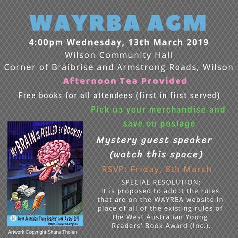WAYRBA AGM Notice